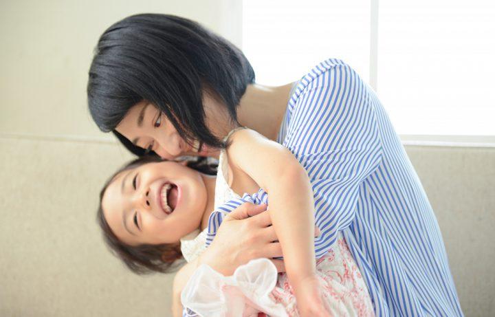 1日に1回は子どもを抱きしめてあげる