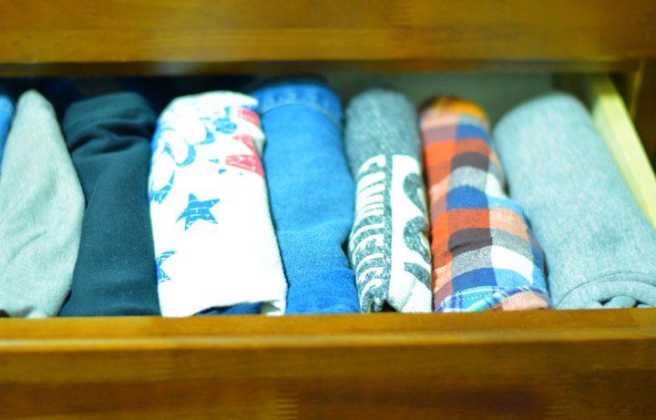 すっきり収納の基本でもある衣類のたたみ方を覚えよう