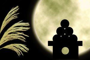 中秋の名月(十五夜)の意味とは?月見団子などのお供え物をする理由や由来