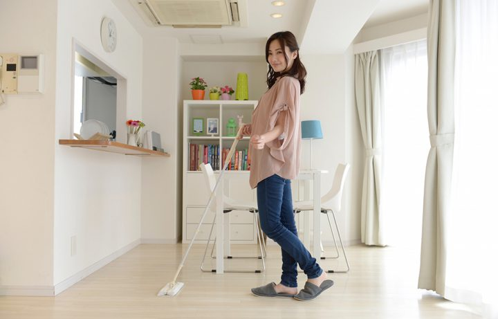 掃除の頻度ってどれぐらい?週の回数や時間の目安など