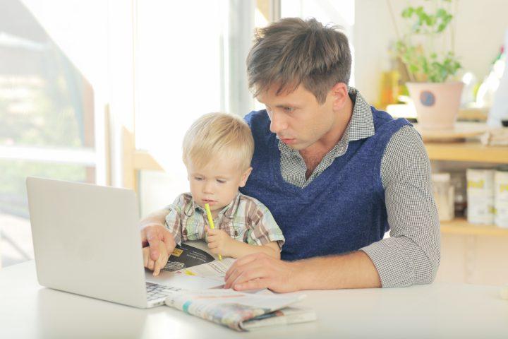 自宅でできる入門プログラムに親子で挑戦