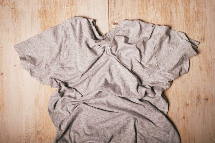 Tシャツの「シワ」が気になる場合の洗濯方法