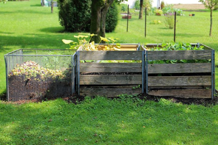 堆肥の作り方~畑などの広い場所
