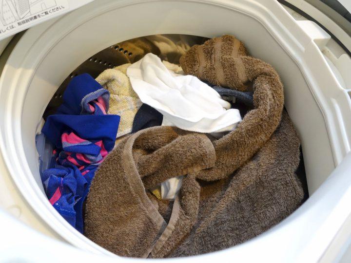 乾燥機にたくさん入れすぎない
