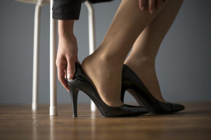 自分に合っていない靴とは