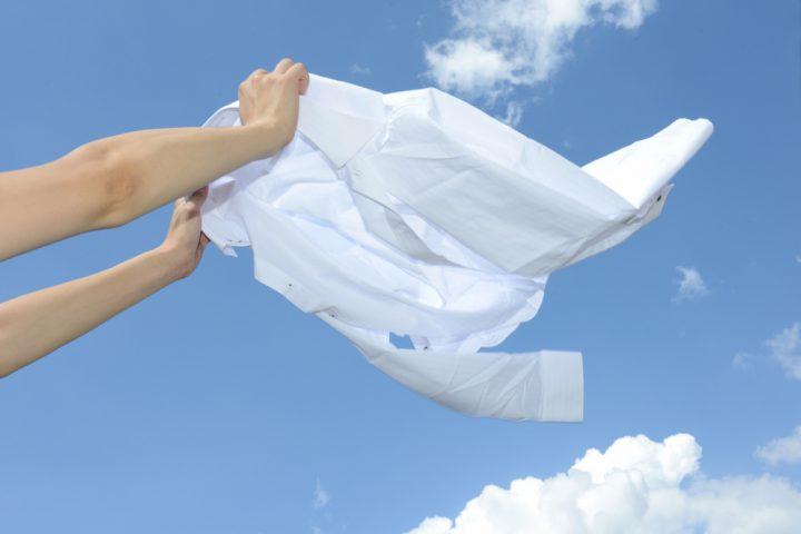 洗濯でワイシャツがシワになる理由