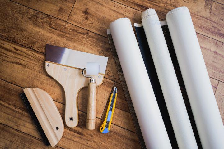 賃貸で壁紙DIYはできる?手軽に壁紙を替える方法とおすすめのアレンジ術