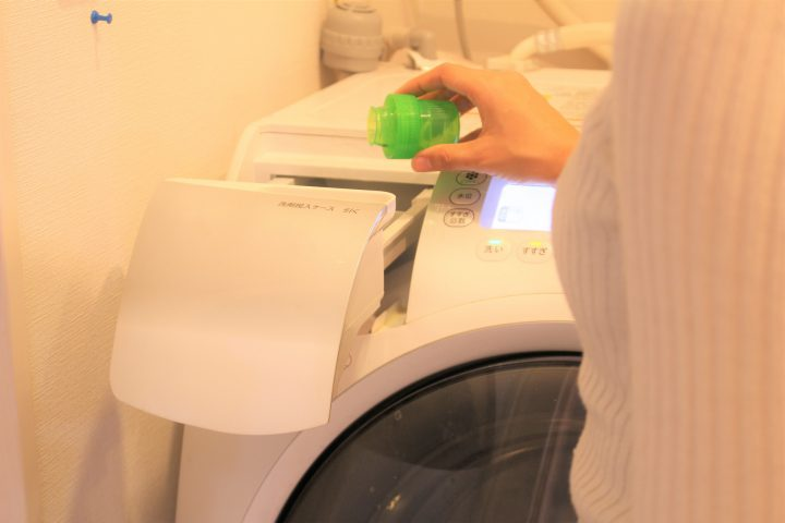 「洗濯機洗い」の方法