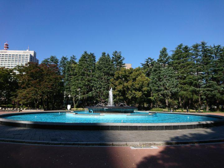 Wi-Fiが使える東京の公園