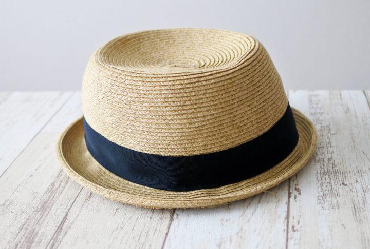 麦わらなど天然素材の帽子のお手入れ