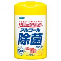 アルコール除菌タオル