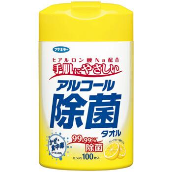 アルコール除菌タオル 100枚入