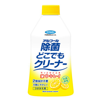 Alcohol Jokin Dokodemo Cleaner Refillable Bottle 300 mL