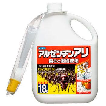 アルゼンチンアリ 巣ごと退治液剤 1.8L