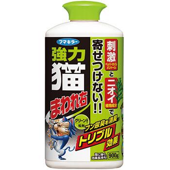 強力猫まわれ右 粒剤 900g グリーンの香り