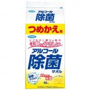 フマキラー アルコール除菌タオル つめかえ用 80枚入