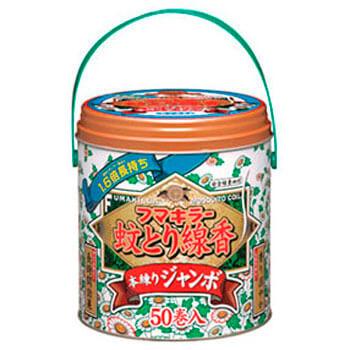 フマキラー蚊とり線香 本練りジャンボ 50巻缶入