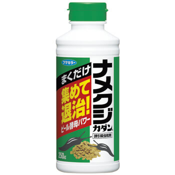 Namekuji KADAN Attractant and Insecticidal Granular Agent 250 g