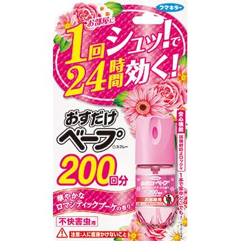 おすだけベープ スプレー 200回分 不快害虫用 ロマンティックブーケの香り